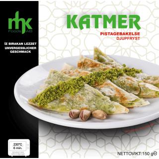 Katmer Pistagebekelse MHK 12x150g Fryst Turkisk