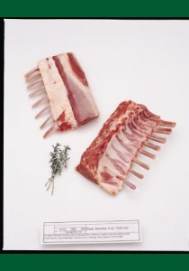 Lammracks 75/25 280-340gm (N.Z)  (Fryst)