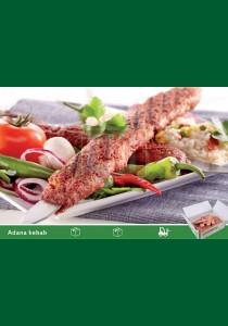 Adana Kebab 15 x 560g Elif Fryst