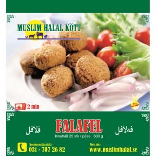 Falafel 25st 18 x 600 Muslim (Fryst)