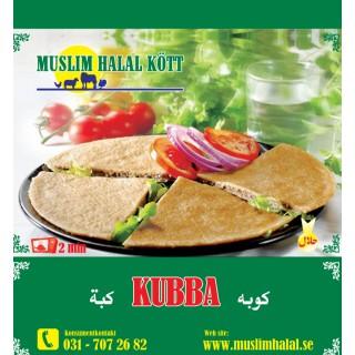 5029-Kubba Musil Muslim 35x1 ca.400g Fryst