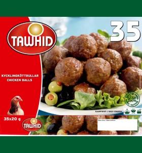 Kycklingköttbullar 8 x 700g  (Fryst)