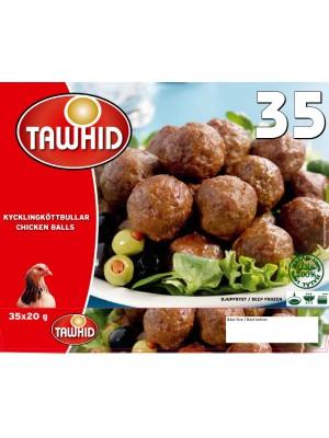 Kycklingköttbullar Tawhid