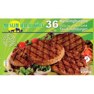 5212- 36Kycklingburger 6X36x65g Fryst
