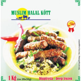 Cevapcici Izmir Köfte Muslim 5x1kg Fryst