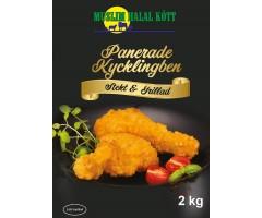 Panerade Kycklingben Kryddig 4%