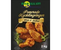 Panerade Kycklingvingar kryddig 4%