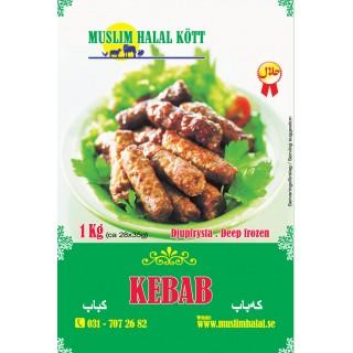 5236-Kebab Muslim 5x1kg Fryst