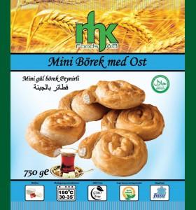 Mini Börek med Ost 8 x 750g Fryst