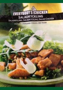 Kycklingsallad 10 kg 4x2,5  (Fryst)