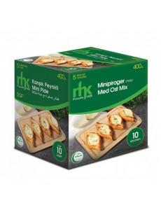 Minipiroger(Mini Pide) med Ost Mix MHK 12x400g Fryst