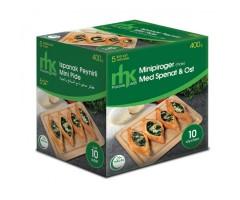 Minipiroger med Spenat & Ost 10-pack MHK