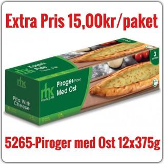 5265-Piroger (Pide) med Ost 12x375g Fryst