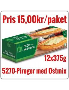 5270-Piroger (Pide) med Ostmix 12x375g Fryst