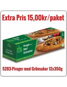 5283-Piroger (Pide) med Grönsaker 12x375g Fryst