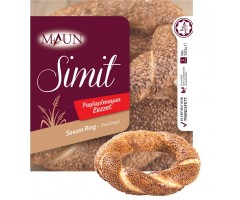 Simit Sesam Ring Bakad