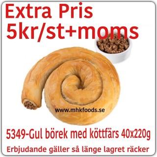 5349-Gül Börek med köttfärs 40x220g Fryst