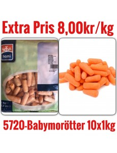 5720-Babymorötter 10x1kg Fryst