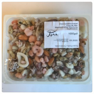 Seafood Coctail 8x1kg Fryst