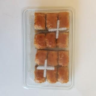6490-Baklava med valnötter 10x500g Fryst TR