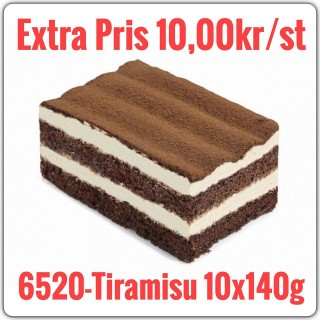6520-Tiramisu  9x1400g (10x140g)TR Fryst