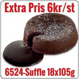 6524-Sufflê 6x1,890g (18x105g) Fryst