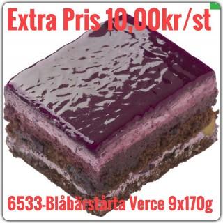 6533-Blåbärstårta verce 9x1,530g (9x170g)Fryst