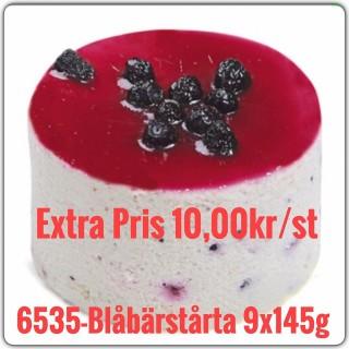 6535-Blåbärstårta 9x1,305g (9x145g)TR Fryst