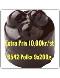 6542-Polka 6x1800g (9x200g) Fryst