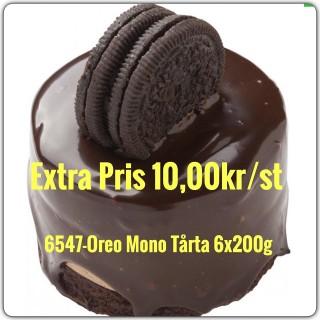 6547-Oreo Mono Tårta 6X1800g (6x200g)TR Fryst
