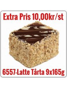 6557-Latte Tårta  9x1,485g (9x165g) TR Fryst