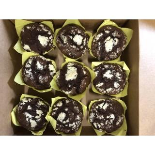 6560-Chokladmuffins 6x1,125g (9x125g)TR Fryst