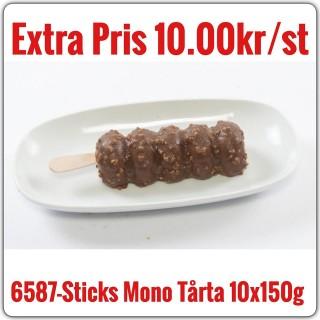 6587-Sticks Mono Tårta 9x1500g(10x150g) Fryst