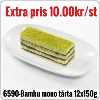 6590-Bambu Mono Tårta 9x1800g (12x150g) Fryst