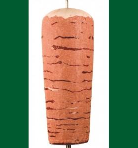Nöt kebab spett 15kg (Fryst)