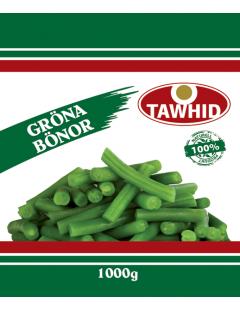Gröna Bönor Fasolya 1kg Tawhid