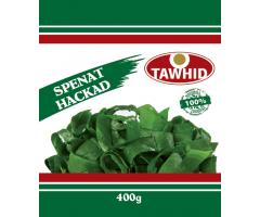 Spenat Hackad 400g Tawhid