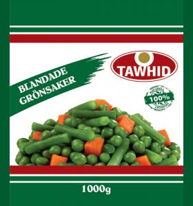 Blandade grönsaker 8 x 1000g  (Fryst)