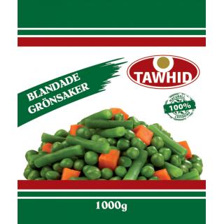Blandade grönsaker Tawhid 8x1kg Fryst