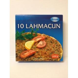5245-Lahmacun 10st 6x1600g Fryst